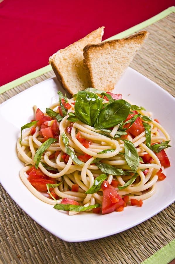 спагетти capresse стоковые изображения rf