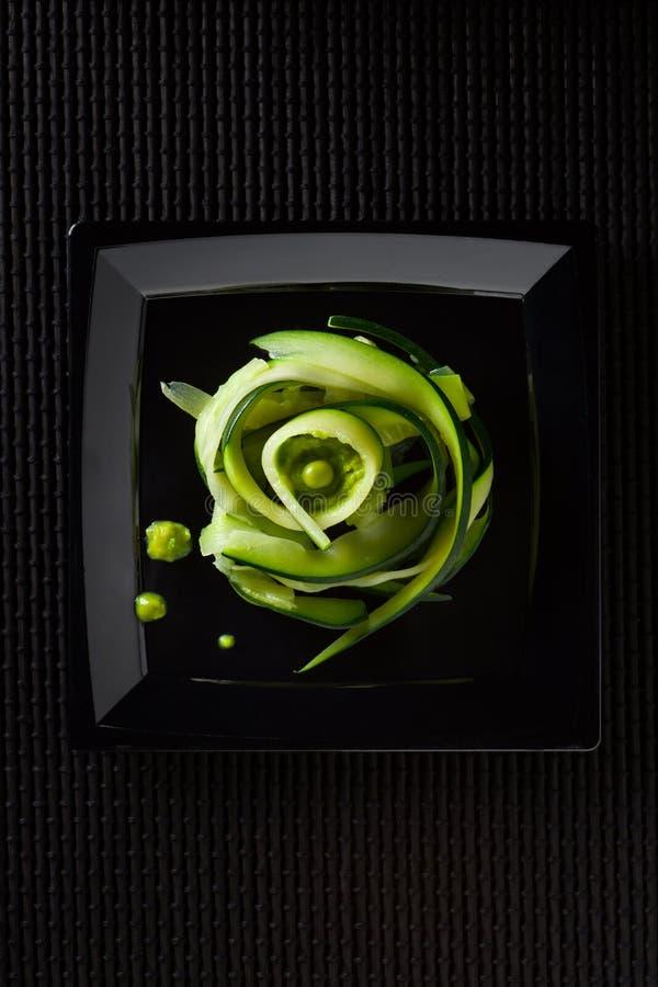 Спагетти Courgette стоковые фотографии rf