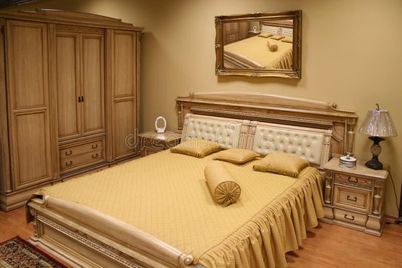 спальня 2 роскошная стоковое фото