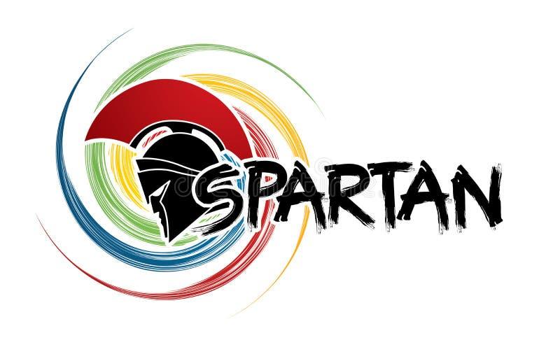 Спартанский конструированный текст бесплатная иллюстрация