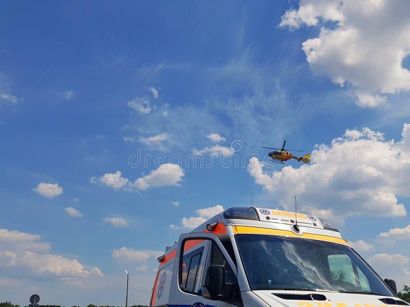 Спасательная операция стоковые изображения rf