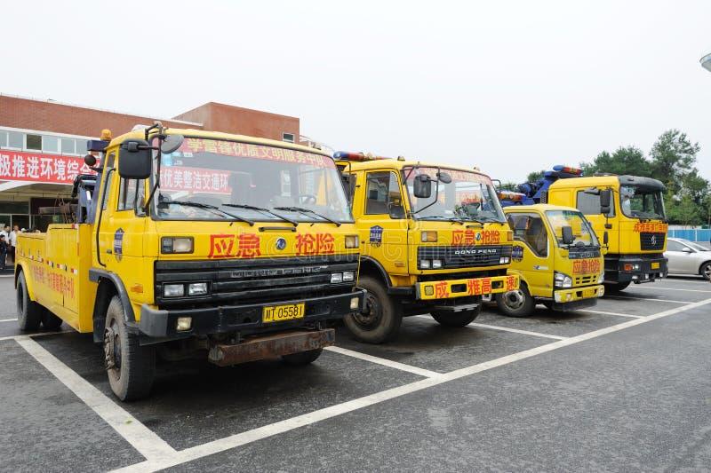 Спасательные средства аварийной ситуации скоростной дороги стоковое фото rf