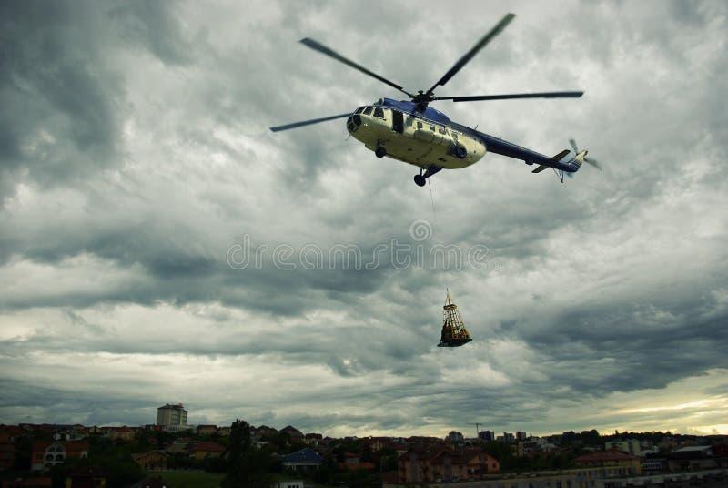 Спасательная операция стоковое изображение rf