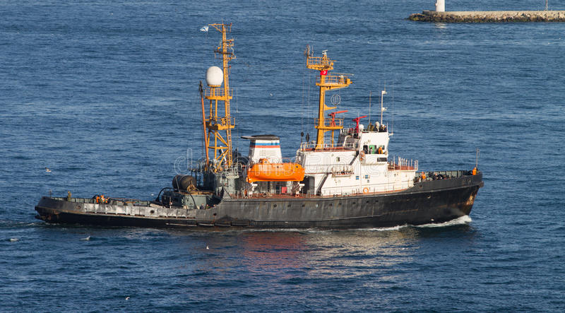Спасательная лодка стоковые фотографии rf