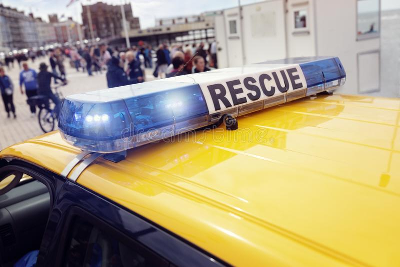 Спасение службы береговой охраны стоковое изображение rf