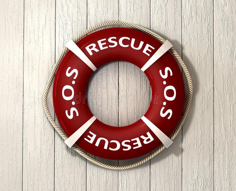 Спасение Lifebuoy стоковые фото