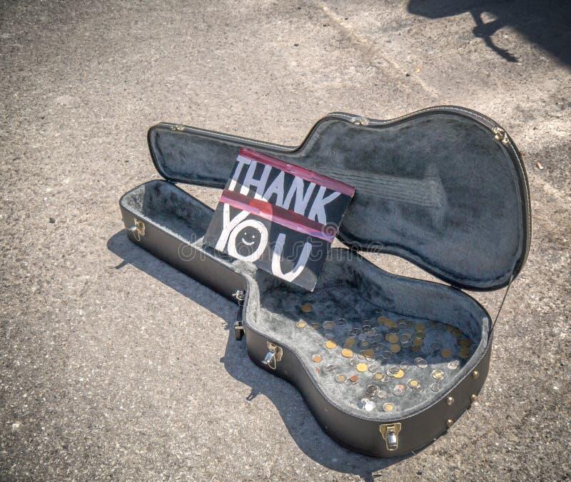 Спасибо от музыканта улицы