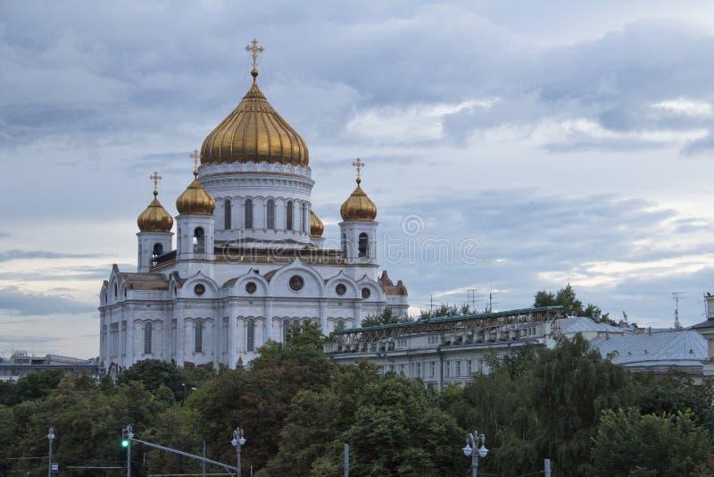 спаситель christ собора moscow стоковое фото