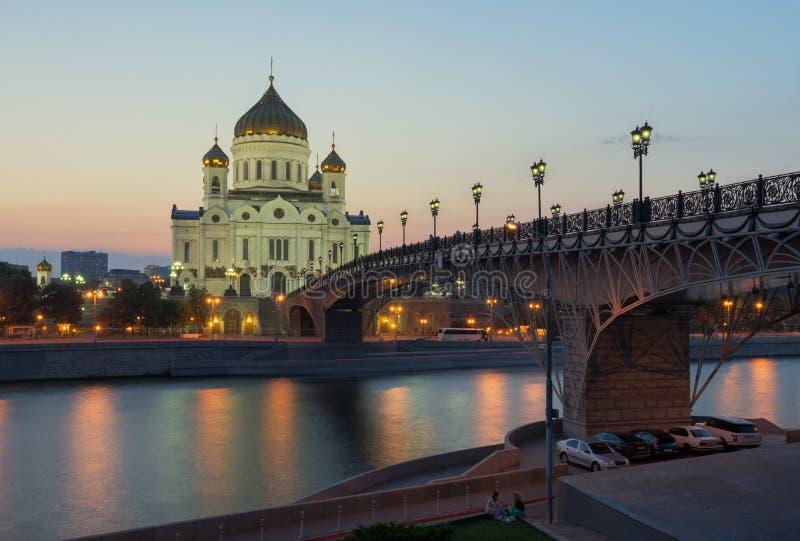 спаситель christ moscow России собора moscow Россия стоковое изображение rf
