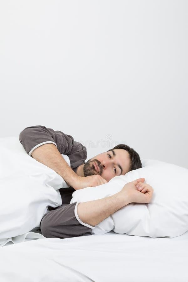 Спать в ноче стоковая фотография rf