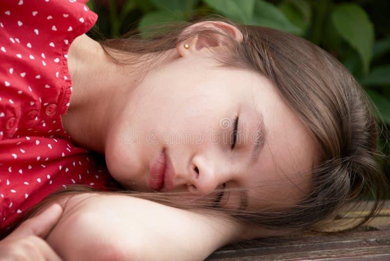 спать красотки стоковые фото