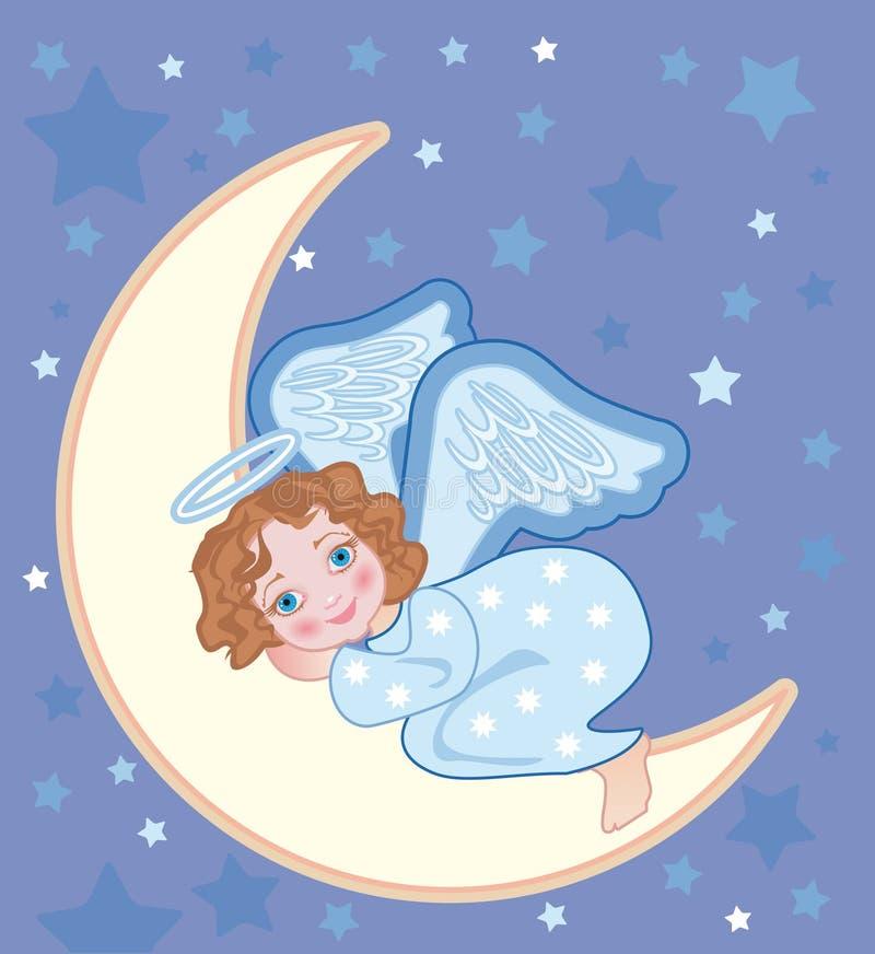 спящий ангел на облаке картинки