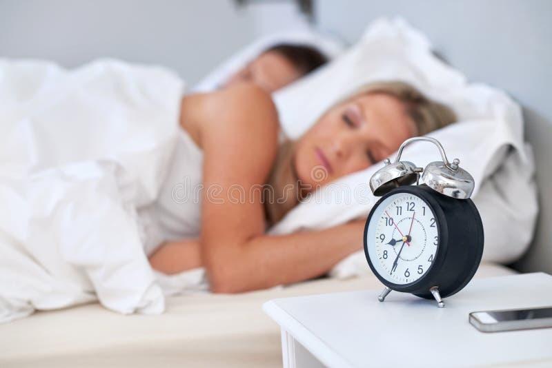 спать пар стоковое изображение rf