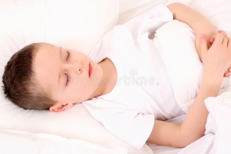 спать ребенка стоковая фотография