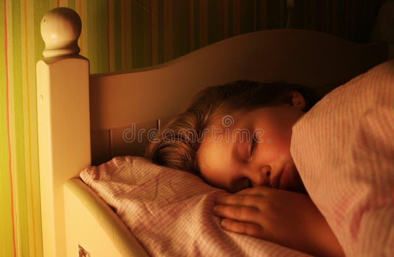 спать стоковое изображение