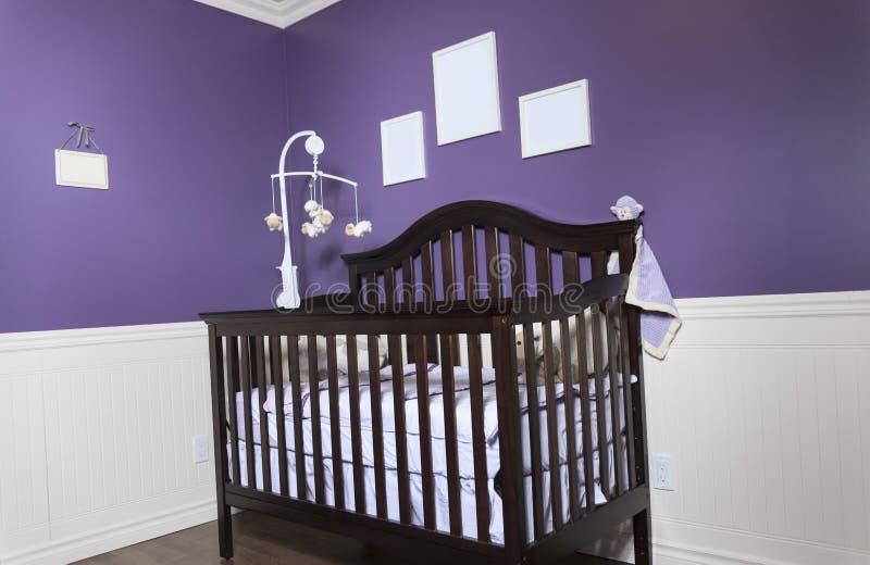 спальня s младенца стоковое изображение