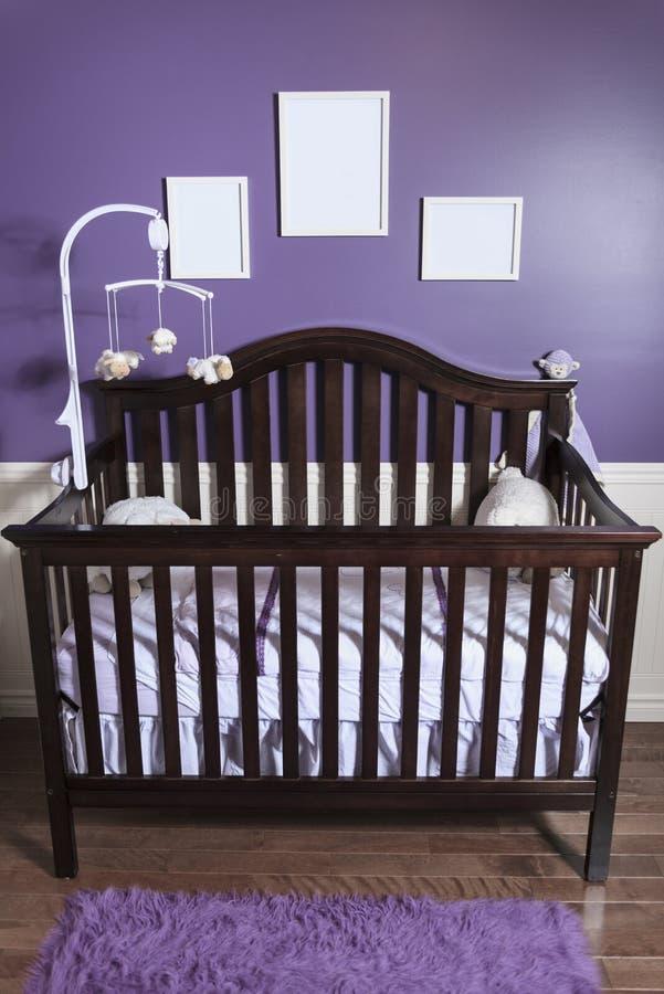 спальня s младенца стоковые изображения