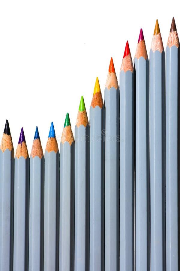 спектр карандаша стоковое изображение