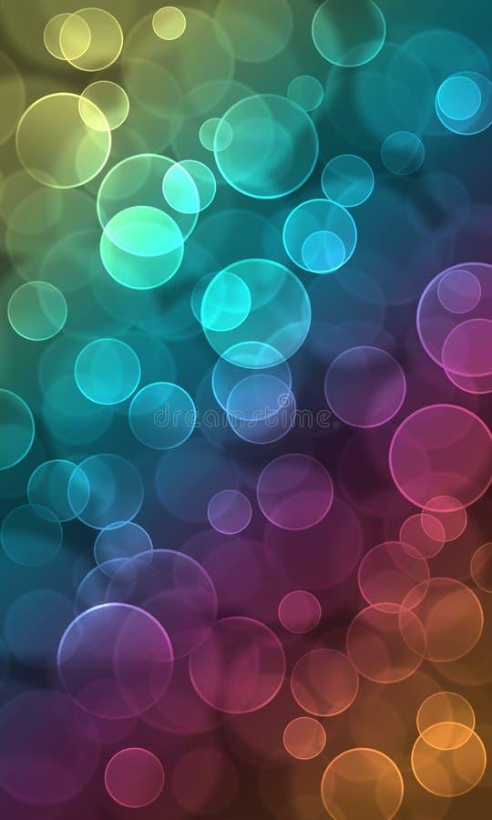 Спектр красочное Bokeh стоковые фото