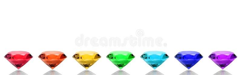 спектр самоцветов стоковое изображение rf