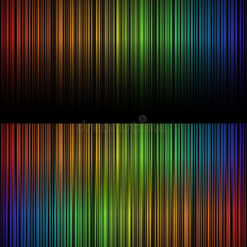 Спектр света иллюстрация вектора