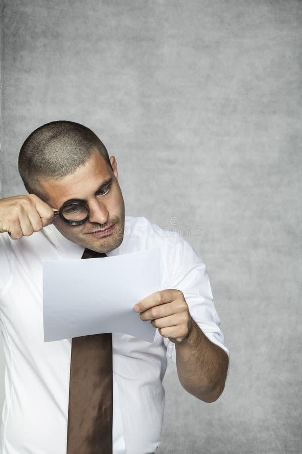 Специалист контрактов стоковое изображение rf