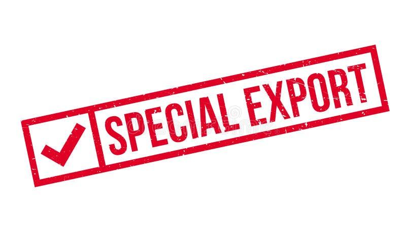 Специальная избитая фраза экспорта бесплатная иллюстрация