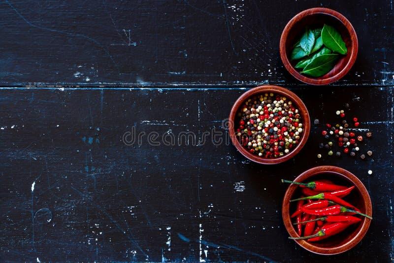 Специи и травы стоковые изображения rf