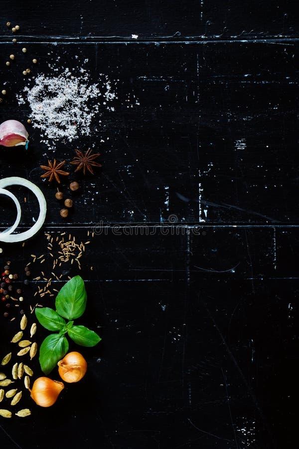 Специи и травы стоковая фотография rf
