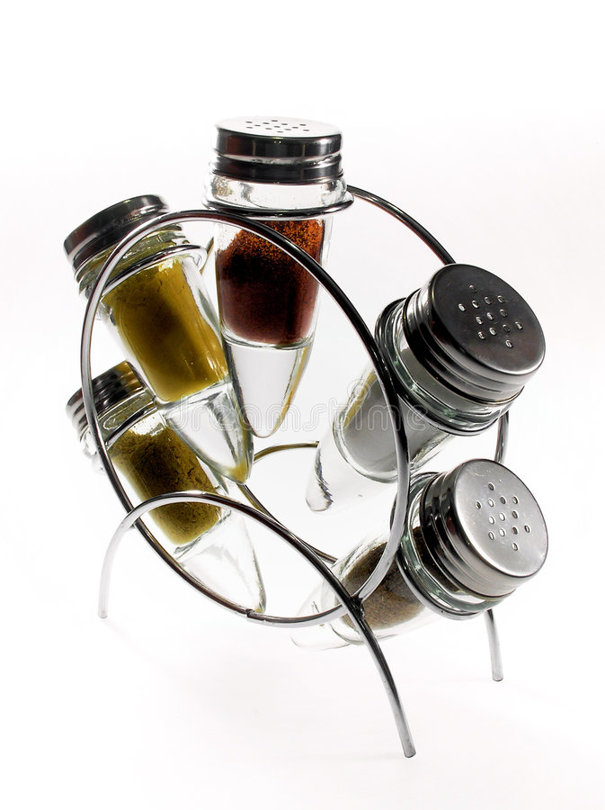 специя бутылки стоковое изображение rf