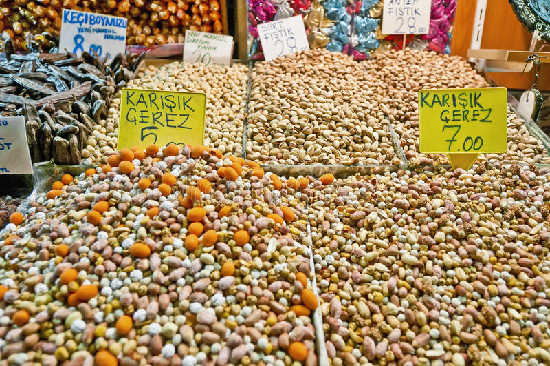 специя istanbul базара стоковая фотография rf