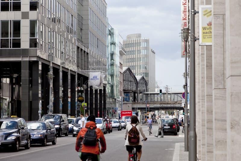 спешка часа berlin стоковое изображение rf