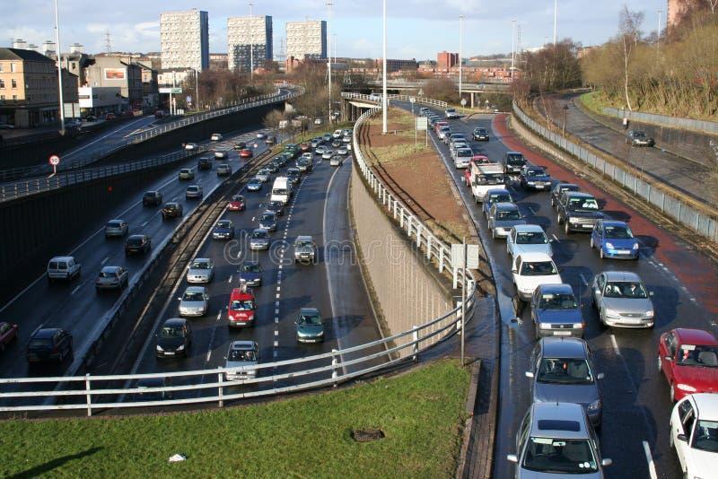 спешка шоссе часа урбанская стоковые изображения rf
