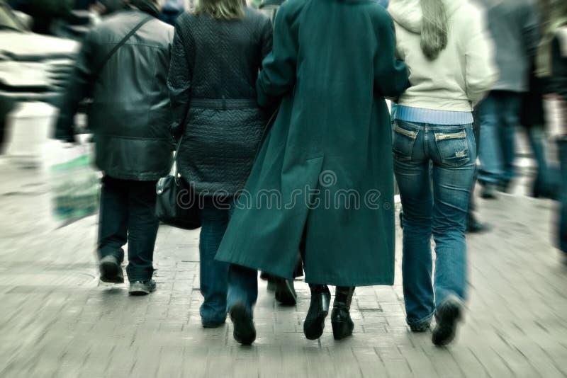 Download спешности толпы города стоковое фото. изображение насчитывающей движение - 650510