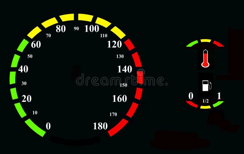 Download спидометр иллюстрация штока. иллюстрации насчитывающей скорость - 6861038