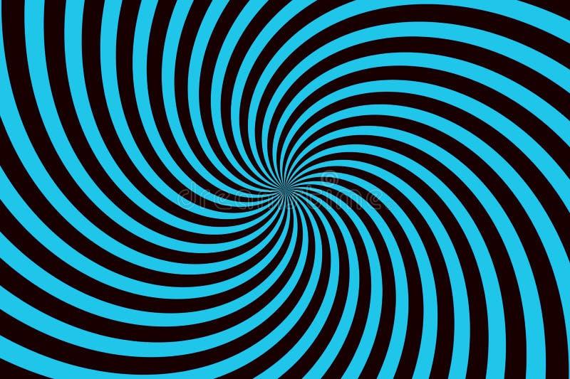Спиральная безшовная предпосылка картины стоковые изображения rf