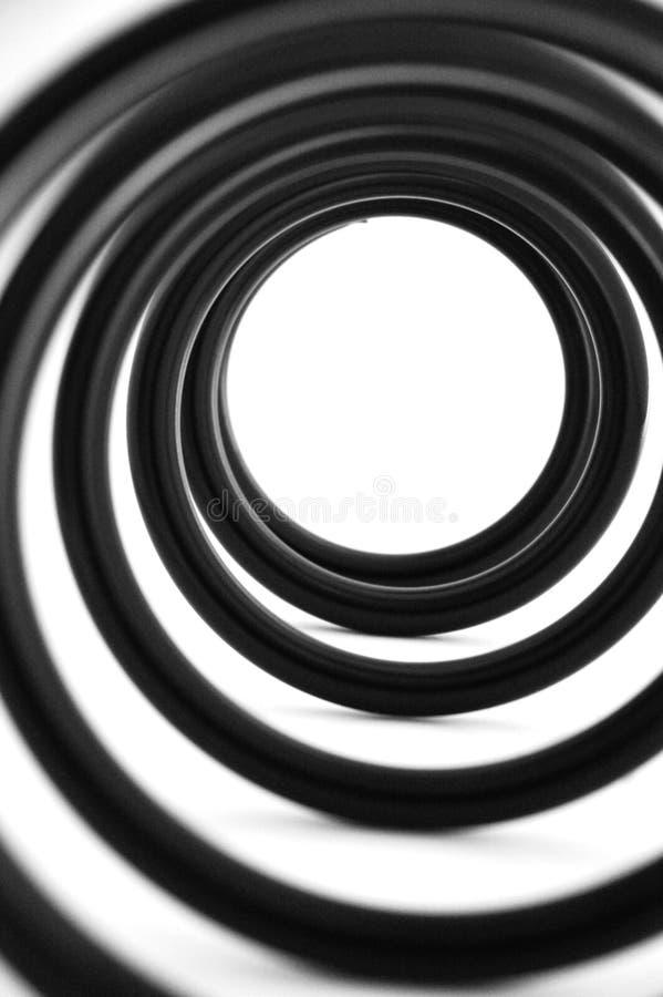 спиральная пружина стоковое изображение