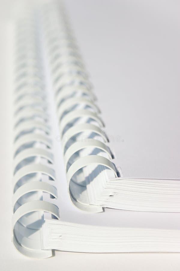 спираль книг стоковые фотографии rf