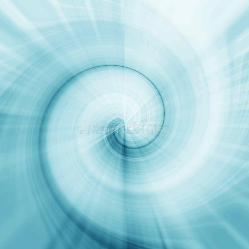 спираль кривых иллюстрация вектора