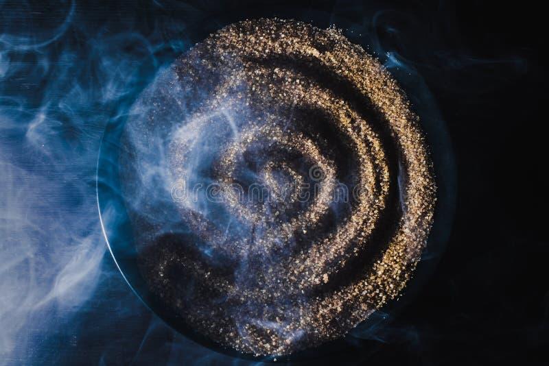 спираль песка фото картины стоковое изображение