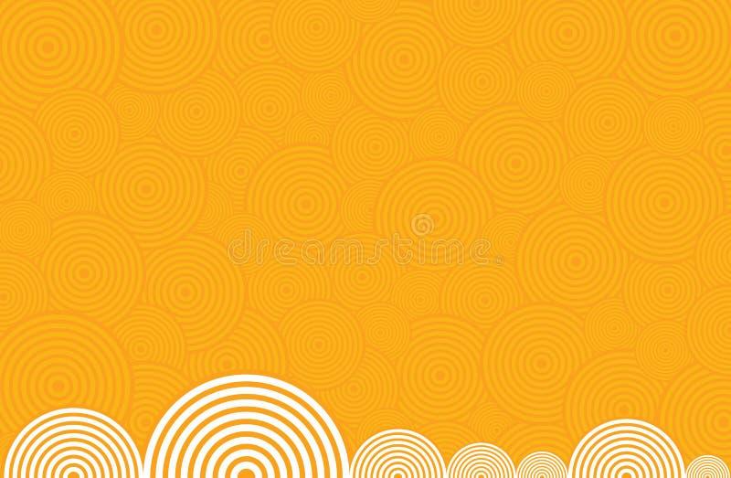 спираль предпосылки иллюстрация штока