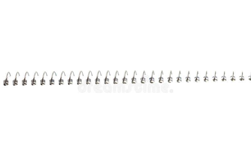 спираль тетради бумажная стоковое изображение