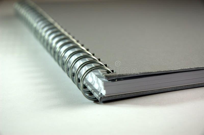 спираль тетради стоковое фото rf