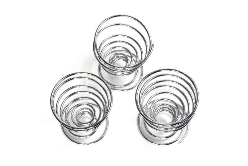 спираль яичка чашек стоковая фотография