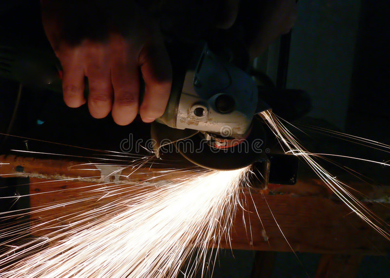 спираль ironmonger стоковое фото