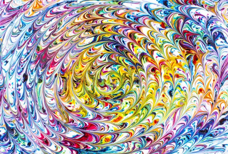 Спираль радуги стоковые фото