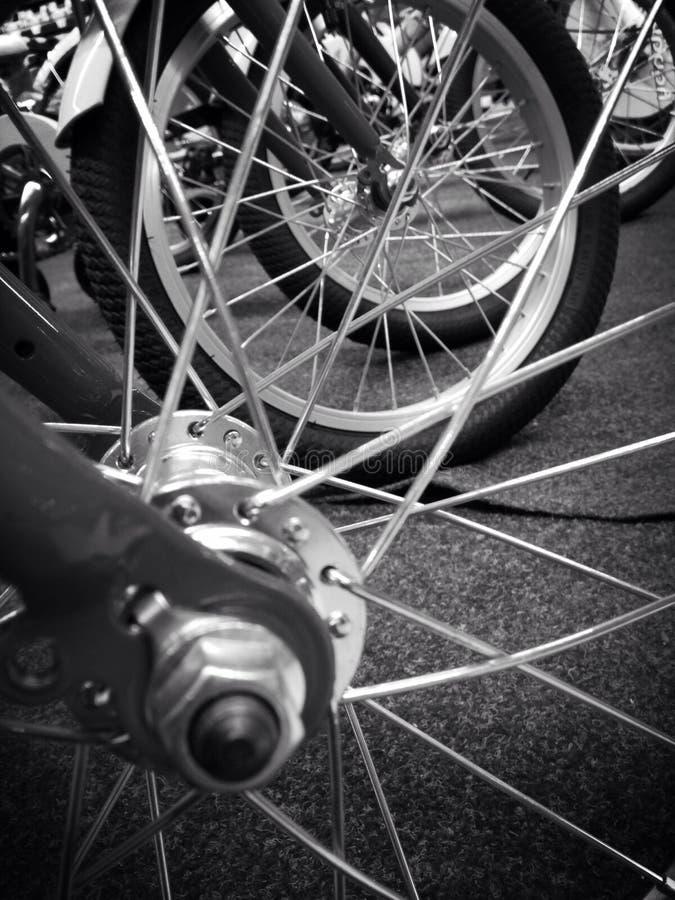 Спицы колеса стоковая фотография rf