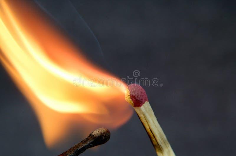 Спичка зажигания стоковое фото rf