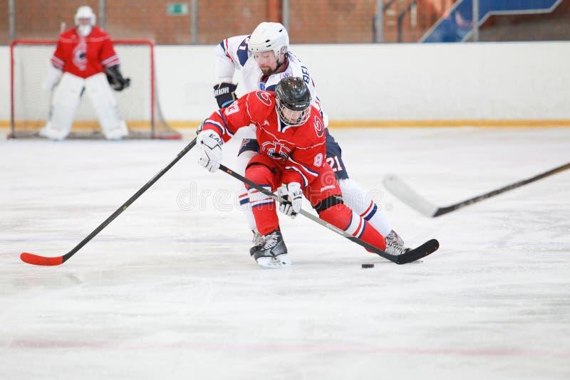 спичка хоккея стоковое фото