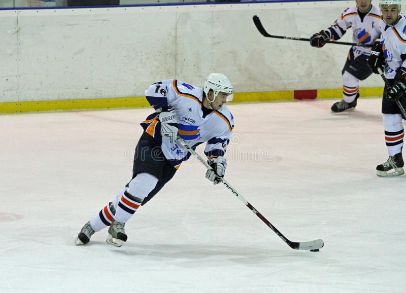 спичка kharkov льда хоккея donbass стоковое фото